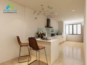 aluminium kitchen cabinet 4 scaled