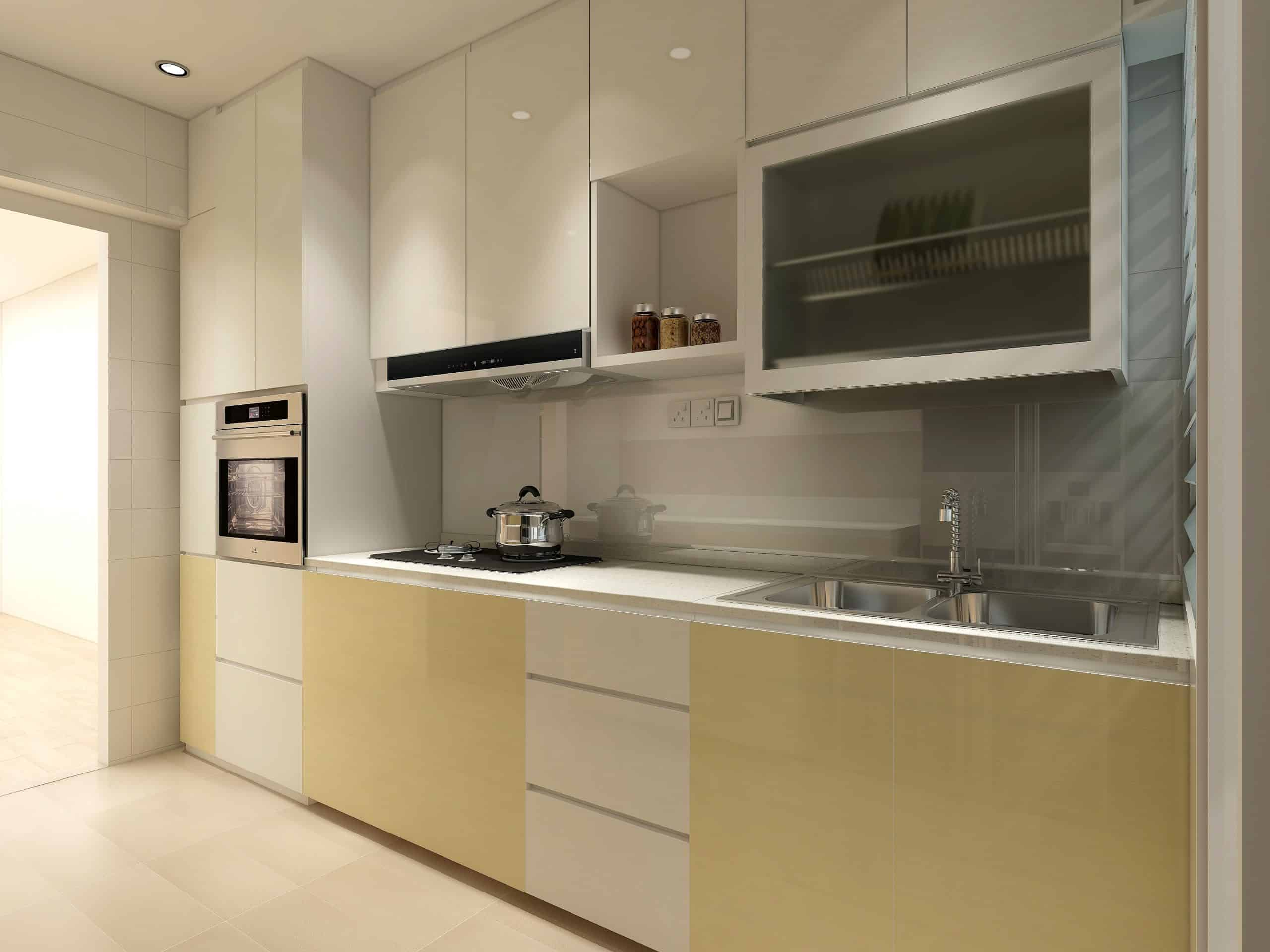 Aluminium Kitchen Cabinet A Star Furnishing