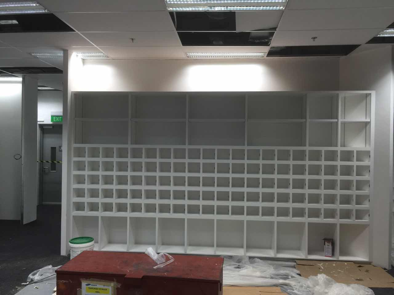 astar furnishing commercial project cabinet 2. Tote Board 18