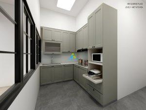 aluminium kitchen cabinet 02