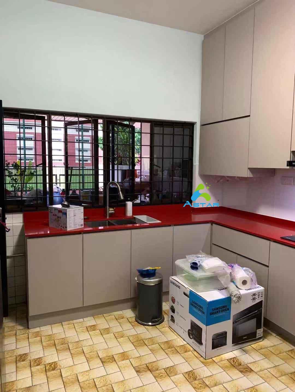 astar furnishing complete projects aluminium kitchen cabinet vanity cabinet wardrobe Jalan Binchang 5
