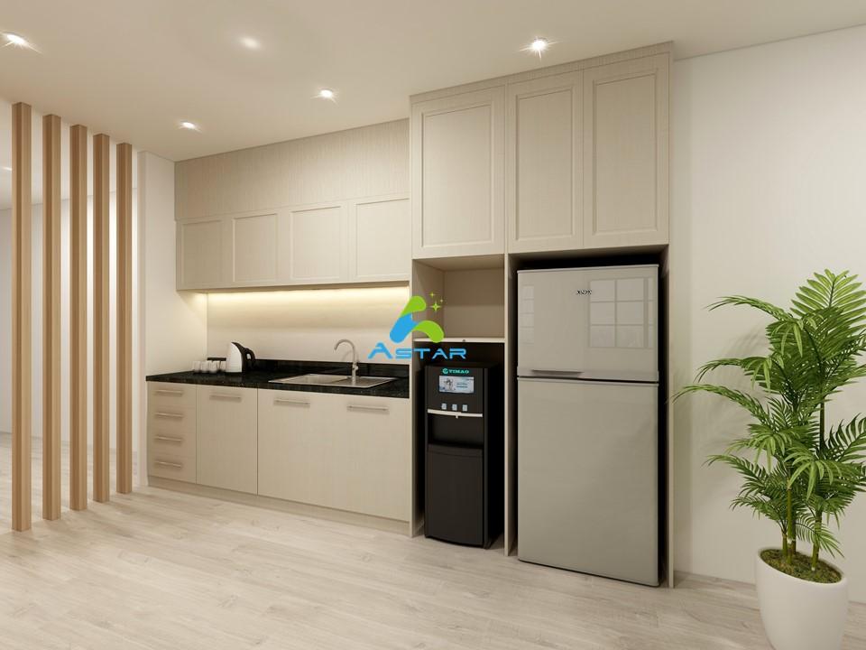astar furnishing complete projects aluminium kitchen cabinet vanity cabinet wardrobe National Heritage Board @ Stamford Road 02