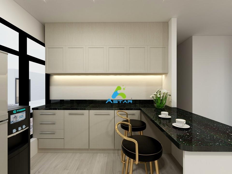 astar furnishing complete projects aluminium kitchen cabinet vanity cabinet wardrobe National Heritage Board @ Stamford Road 03