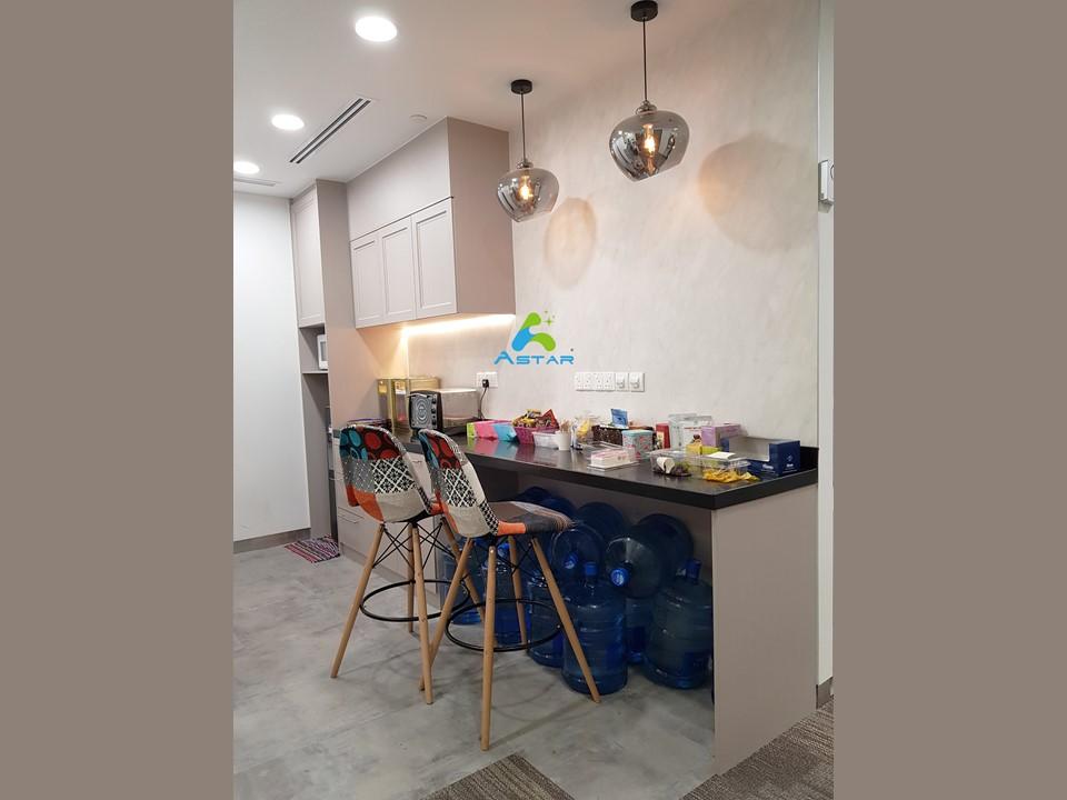 astar furnishing complete projects aluminium kitchen cabinet vanity cabinet wardrobe National Heritage Board @ Stamford Road 06