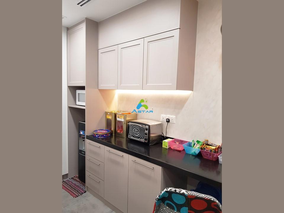 astar furnishing complete projects aluminium kitchen cabinet vanity cabinet wardrobe National Heritage Board @ Stamford Road 07