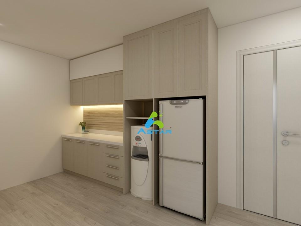 astar furnishing complete projects aluminium kitchen cabinet vanity cabinet wardrobe National Heritage Board @ Stamford Road 08