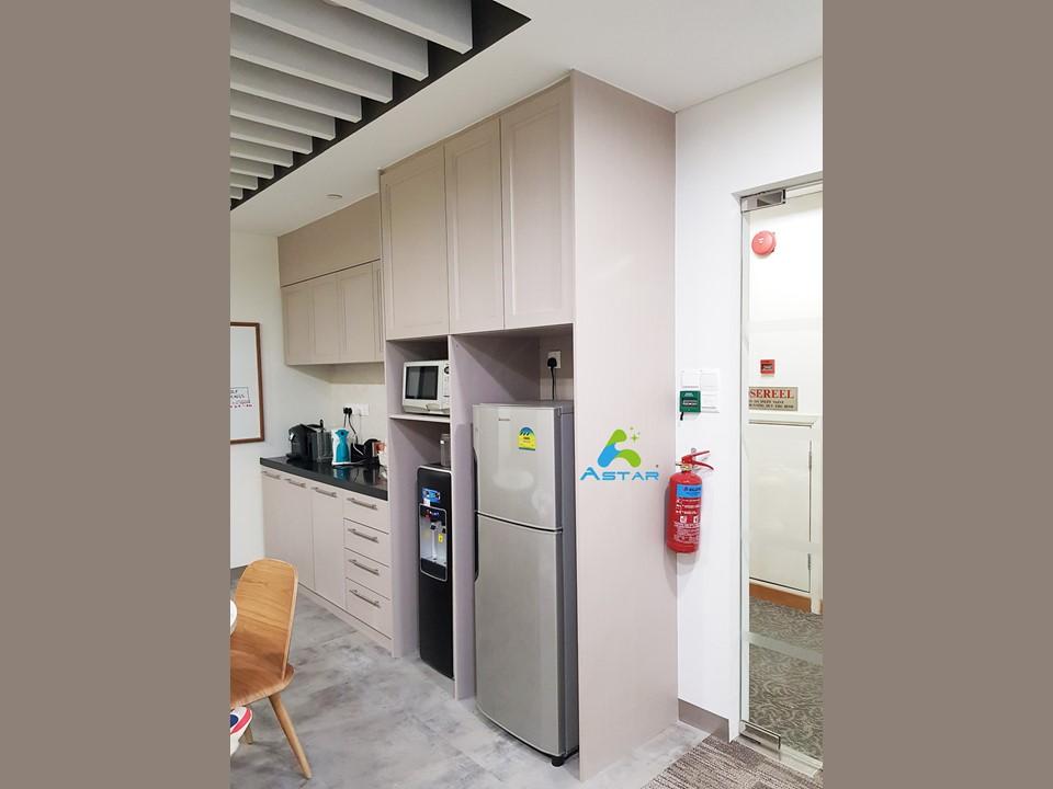 astar furnishing complete projects aluminium kitchen cabinet vanity cabinet wardrobe National Heritage Board @ Stamford Road 10