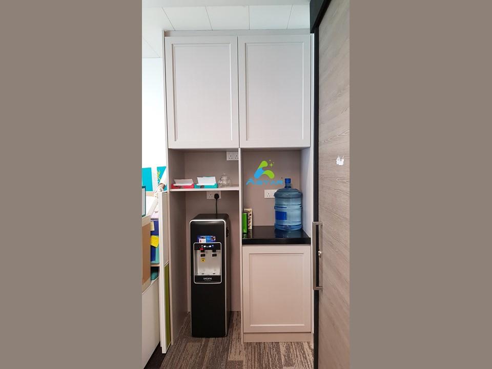 astar furnishing complete projects aluminium kitchen cabinet vanity cabinet wardrobe National Heritage Board @ Stamford Road 12