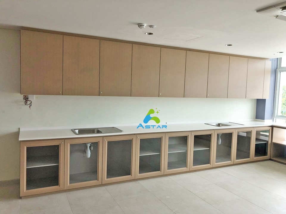 astar furnishing complete projects aluminium kitchen cabinet vanity cabinet wardrobe Peacehaven Nursing Home 09