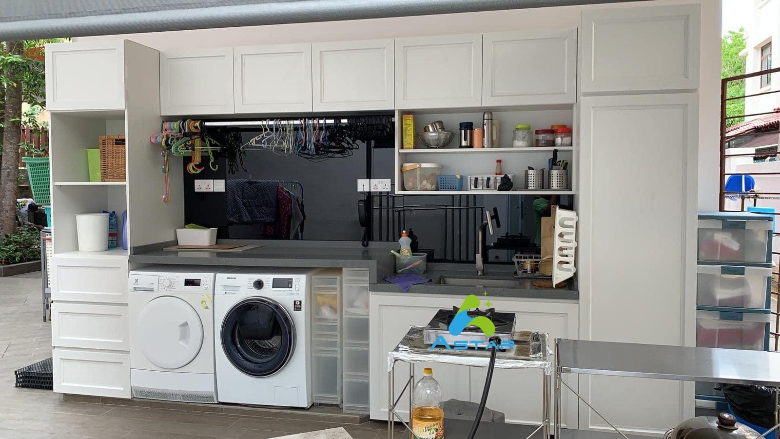 astar furnishing complete projects aluminium kitchen cabinet vanity cabinet wardrobe Riverina view 3