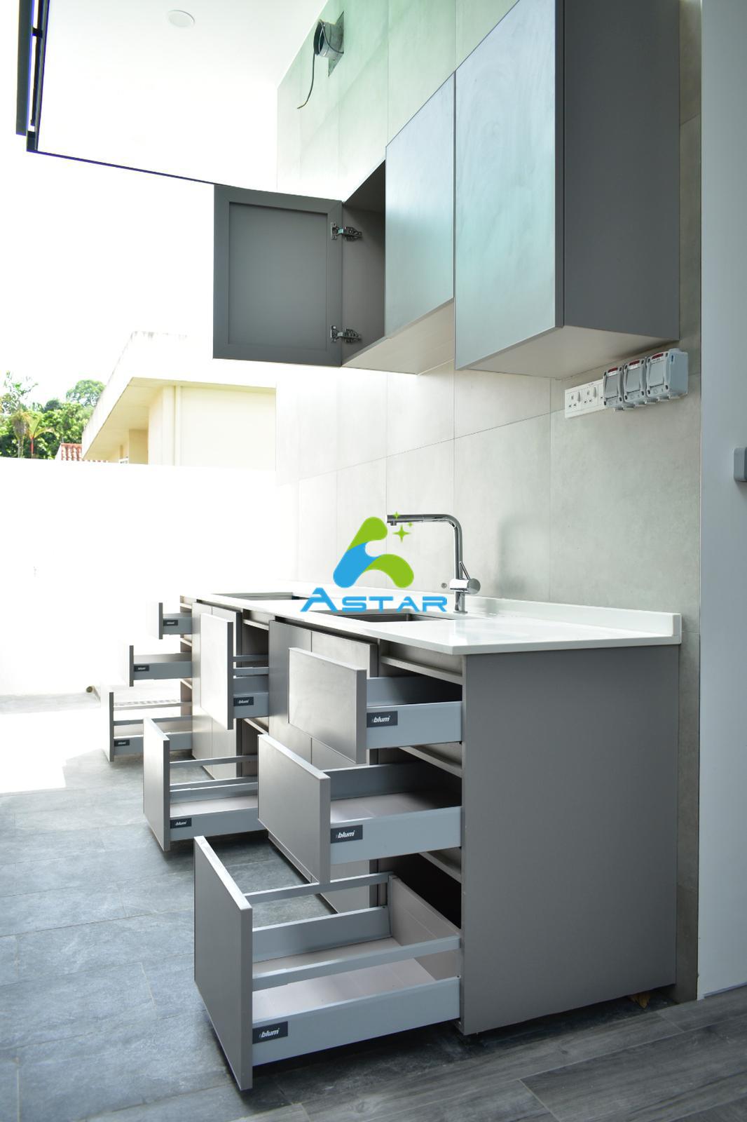 astar furnishing complete projects aluminium kitchen cabinet vanity cabinet wardrobe gardenia road 04