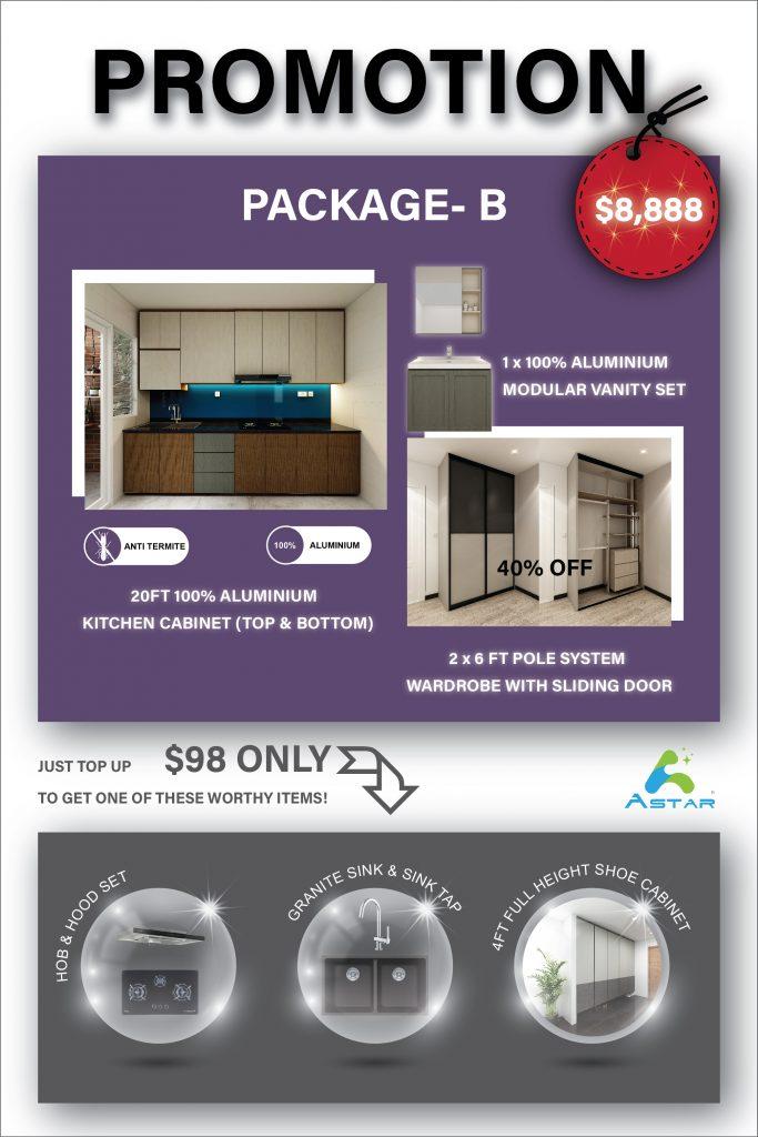 Aluminium Kitchen Cabinet JUNE 2020 PROMOTION 02