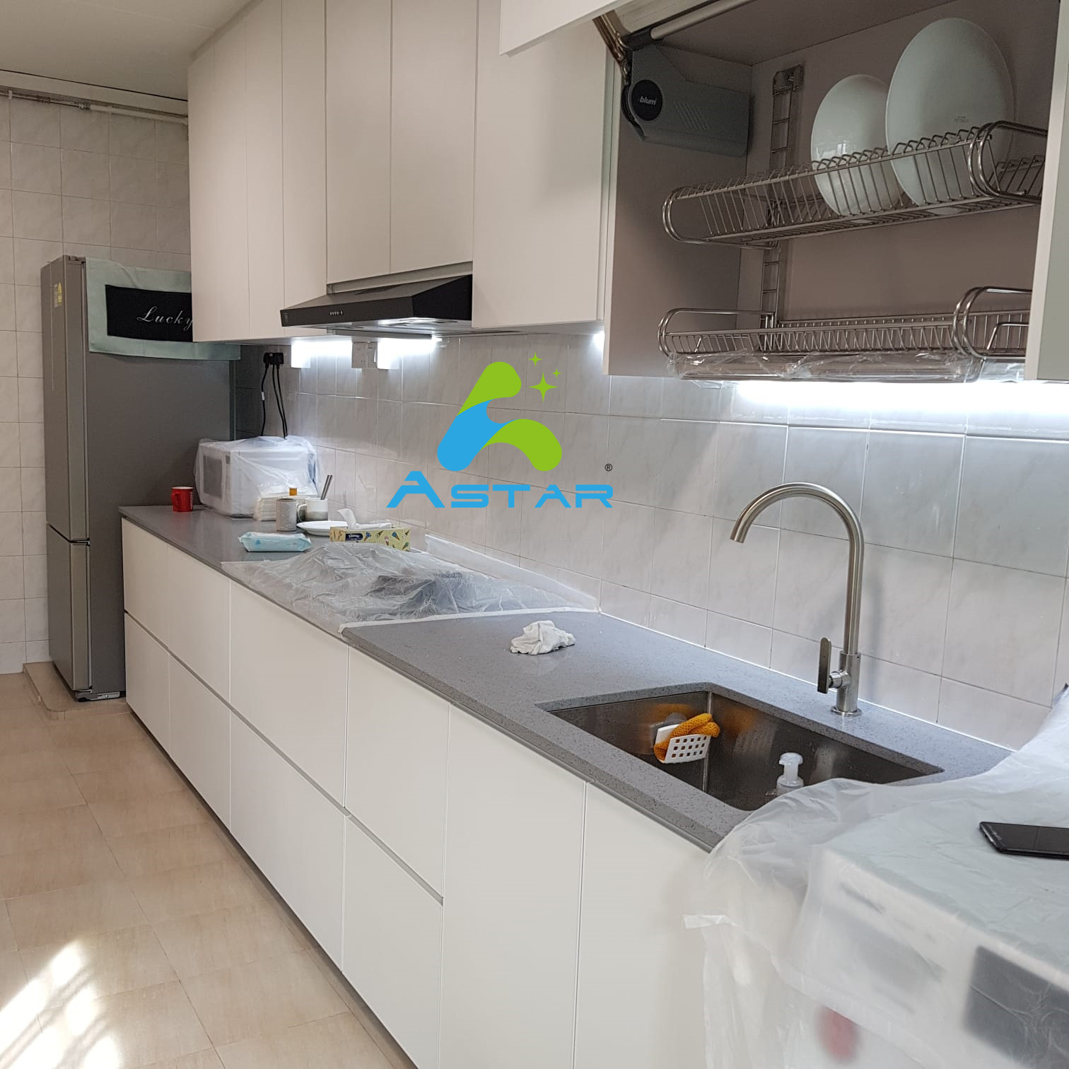 astar furnishing aluminum furniture projects Blk 663D Jurong West 02