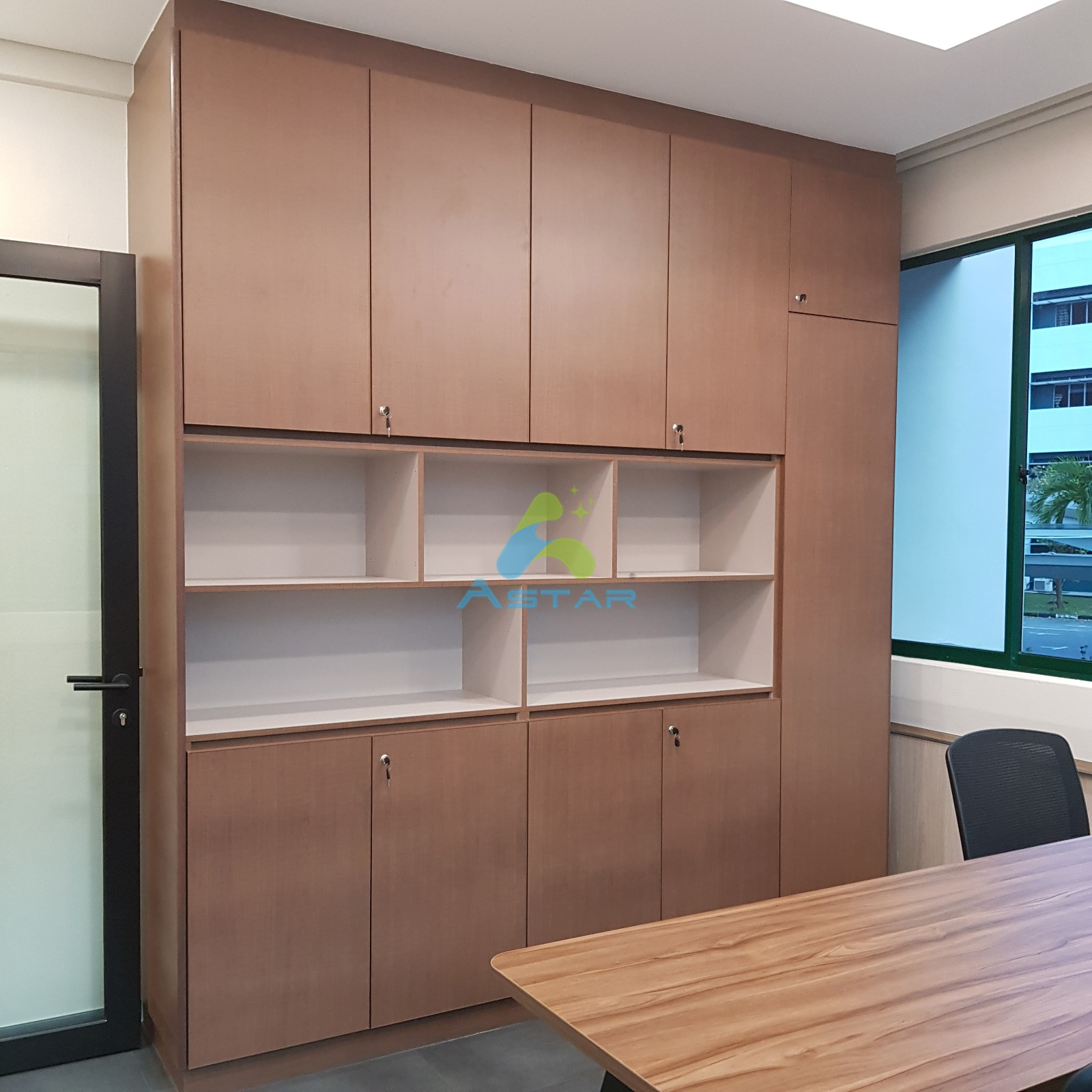 astar furnishing aluminum projects Office at All Saints Church Counselling Center 600 UPPER CHANGI ROAD 06