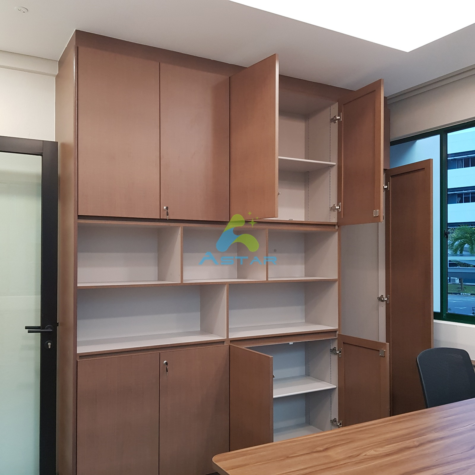 astar furnishing aluminum projects Office at All Saints Church Counselling Center 600 UPPER CHANGI ROAD 07