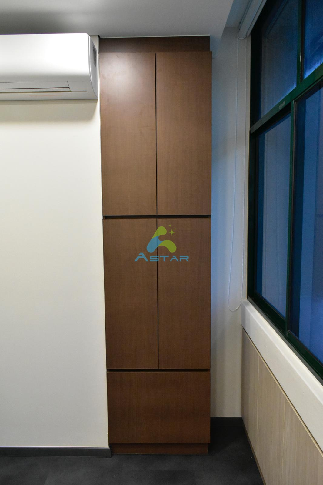 astar furnishing aluminum projects Office at All Saints Church Counselling Center 600 UPPER CHANGI ROAD 26